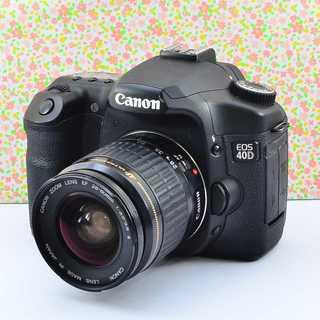 ✨美しいフォルム&簡単操作✨キャノン EOS 40D レンズセット