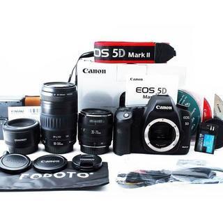 Canon 5D マーク2 標準+超望遠300mm+単焦点50mm トリプル