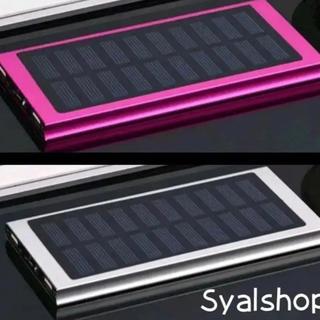 大容量 ソーラー モバイルバッテリー 30000mAh★ 極薄 軽量 急速★№5
