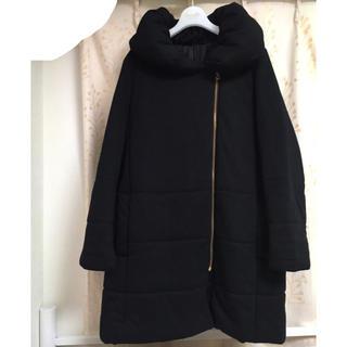 GU 中綿コート 黒  Lサイズ  完売商品