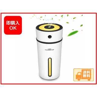 人気商品★加湿器 卓上 USB 超音波式加湿器 8