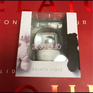 ジェラートピケ(gelato pique)の新品♡2018スノードームノベ♡ジェラートピケ(置物)