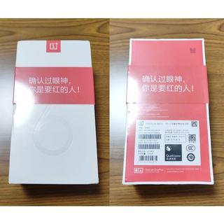 【新品未開封】OnePlus6 本体 赤/RED A6000 8GB/128GB