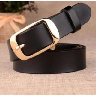 七四 黒 本革ベルト レザー ブラック メンズ レディース カジュアル ビジネス