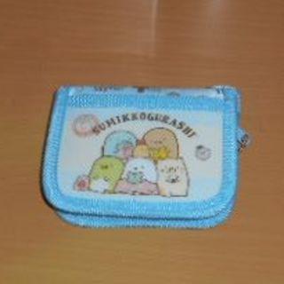 キッズ用◇新品・未使用💕すみっコぐらし折り畳み財布