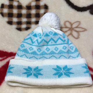 ニット帽 結晶