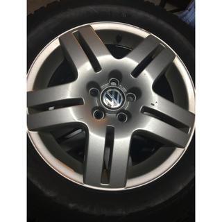 フォルクスワーゲン(Volkswagen)のVW純正アルミホイール(ゴルフ4)(ホイール)