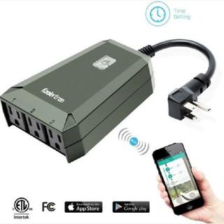 Wifiスマートプラグ ワイヤレスWi-Fi屋外スマートプラグ 遠隔操作 未使用