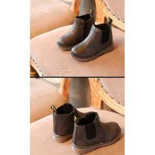 【こげ茶】ブーツ★靴★シューズ★子供靴❤︎ マーチン靴風