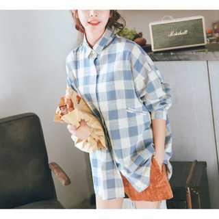 【新品・未使用】レディース◎オシャレで可愛いシャツ♡送料無料◇ブルー◆M