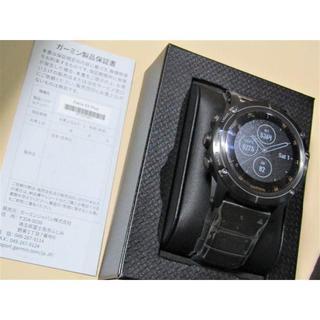 ガーミン(GARMIN)の新品 ガーミン FENIX 5X PLUS Sapphire Ti Black(その他)