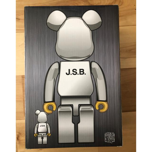 三代目 J Soul Brothers(サンダイメジェイソウルブラザーズ)のベアブリック  JSB    400%のみ エンタメ/ホビーのフィギュア(その他)の商品写真