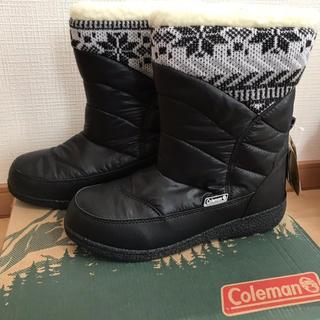 コールマン(Coleman)の新品 コールマン レディース ブーツ M 23cm 23.5cm 黒(ブーツ)