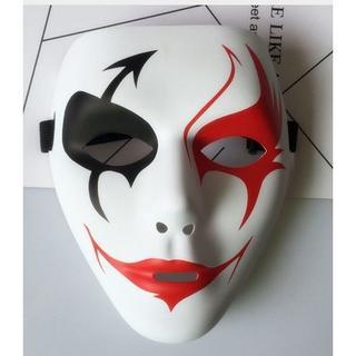 ホラーピエロマスクお面 道化師ジョーカー手品マジック衣装道具グッズ