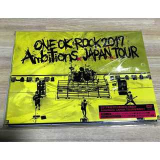 "ONE OK ROCK 2017 ""Ambitions"" JAPAN DVD(ミュージック)"