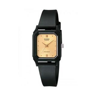 シンプルスクエアデザイン!CASIO カシオ腕時計 ブラック×ゴールド(腕時計(アナログ))