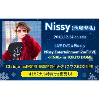 トリプルエー(AAA)のNissy Entertainment 2nd LIVE christmas盤(ミュージック)