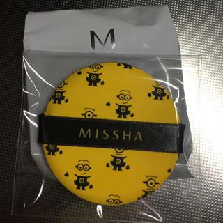 ミシャ(MISSHA)のMISSHA クッションファンデ カバー ミニオン パフ付き(ファンデーション)