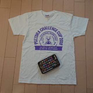 非売品。2018パズドライベントTシャツ、カンケース(携帯用ゲームソフト)