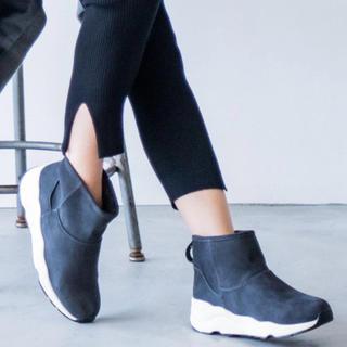 バンヤードストーム(BARNYARDSTORM)のバンヤードストーム  撥水スニーカーブーツ グレー Sサイズ(22.5)(ブーツ)