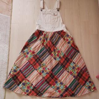 チチカカ(titicaca)のチチカカサロペットスカート(サロペット/オーバーオール)