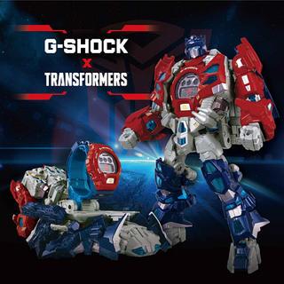 ジーショック(G-SHOCK)のCASIO G-SHOCK TRANSFORMERS DW-6900TF-SET(腕時計(デジタル))