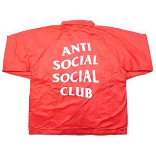 アンチ(ANTI)のASSC コーチジャケット 希少red L 新品(ナイロンジャケット)