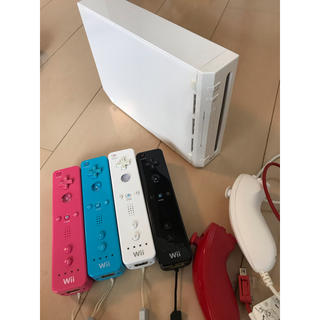 Wii - Wii本体 リモコン ヌンチャクセット