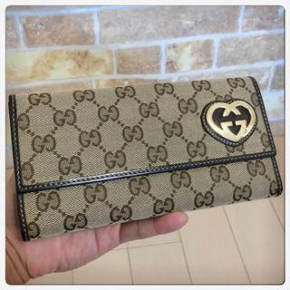 グッチ(Gucci)の《美品》GUCCI(グッチ)長財布 (財布)