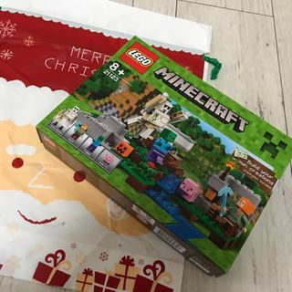 マインクラフト レゴ 新品未開封 クリスマス アイアンゴーレム 21123(積み木/ブロック)
