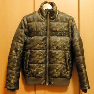 サーティンジャパン(THIRTEEN JAPAN)の未使用 THIRTEEN JAPAN 中綿 ジャケット 迷彩 size.42(ダウンジャケット)