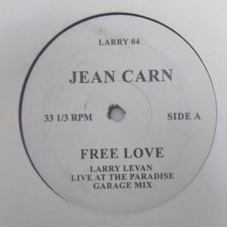 JEAN CARN b/w KAREN FINLEY(ターンテーブル)