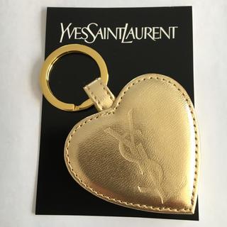 イヴサンローランボーテ(Yves Saint Laurent Beaute)のイヴサンローラン 未使用 ミラーチェーン ノベルティ キーホルダー(ミラー)