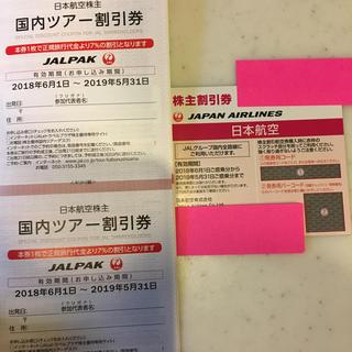 ジャル(ニホンコウクウ)(JAL(日本航空))のJAL航空券(株主優待)(航空券)