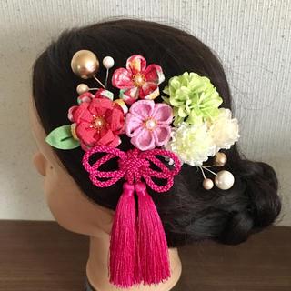 つまみ細工 髪飾り 成人式 結婚式 卒業式 振袖 袴