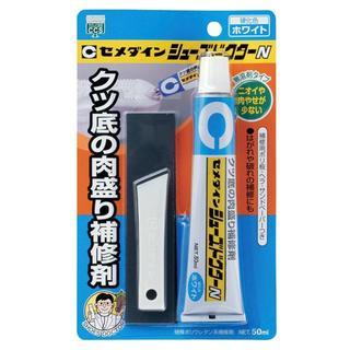 セメダイン 靴用補修剤 シューズドクターN ホワイト 50ml ブリスター HC(スニーカー)