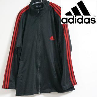 アディダス(adidas)のAdidas アディダス ジャージ ブラック・レッド(ジャージ)