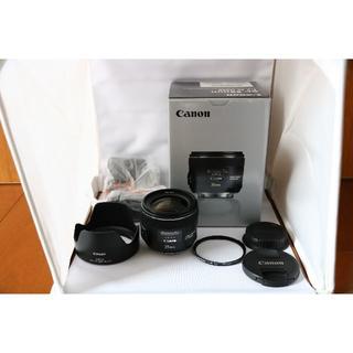 Canon - CANON EF35mm F2 IS USM 極美品 フード、プロテクタ付き
