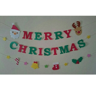 【Reiさん専用】 クリスマスガーランド(ガーランド)