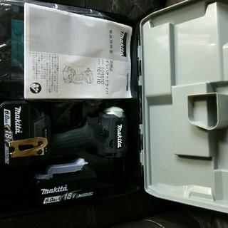 マキタ(Makita)のマキタTD171ブラックフルセット新品未使用。(工具/メンテナンス)
