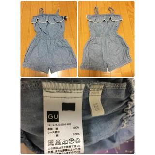ジーユー(GU)のサロペット・ノースリーブシャツ 3種まとめ売り(Tシャツ/カットソー)