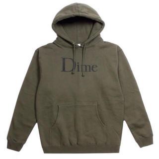 シュプリーム(Supreme)のDime mtl 初期 パーカー M Olive 新品(パーカー)
