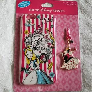 ディズニー(Disney)の新品♪不思議の国のアリス♪スマホケースiPhone6、6S  ディズニーリゾート(iPhoneケース)