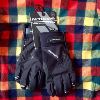 自転車グローブ ウィンター 冬用 防寒 防水 ロードバイク シクロクロス MTB