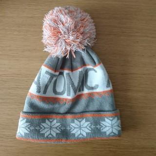 アトミック(ATOMIC)のATOMIC  帽子 ニット帽 スキー スノボ (帽子)