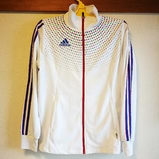 アディダス(adidas)の古着◻️アディダス UVケア 長袖ウェア レディースMサイズ テニス スポーツ(ウェア)