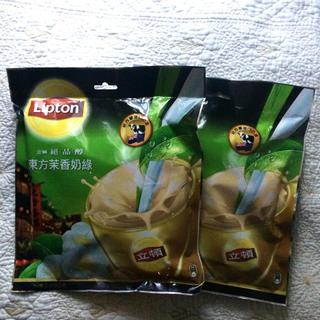 台湾 限定 リプトン  ジャスミンミルクティ 2袋(茶)