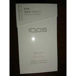 アイコス(IQOS)の【送料込み!】新品未開封 IQOS3 multi ウォームホワイト(タバコグッズ)