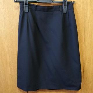 アトリエサブ(ATELIER SAB)のアトリエサブ シンプルタイトスカート ブラック(ひざ丈スカート)