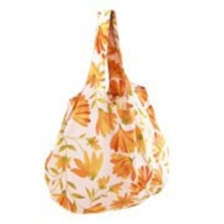 シビラ(Sybilla)のピーナッツホイップ様専用 新品未開封 シビラ エコバック 花柄 オレンジ(エコバッグ)